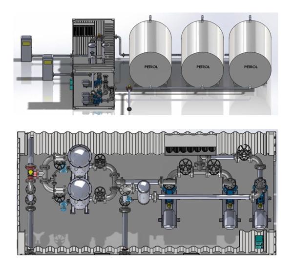 Fuel Coalescing Separator System 8KLF